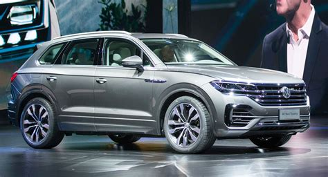 2019 Vw Touareg Is Bigger, Lighter And Packs A Massive