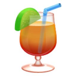 drink emoji tropical drink emoji u 1f379 u e044
