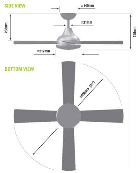 how do you measure a ceiling fan how to pick ceiling fan size www energywarden net