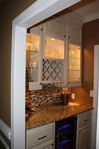 Wine Nook Kitchen Atlanta By Kreg39s Custom Carpentry