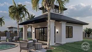 Modern, Pool, House, Plan