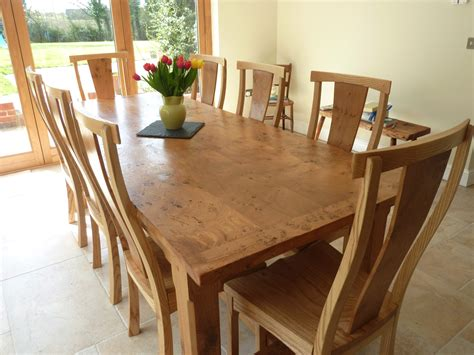 Dining Room Astounding Big Wood Dining Table Dining Room