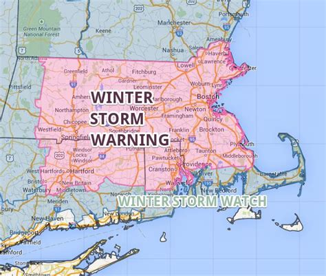 Winter Storm Warning Weather