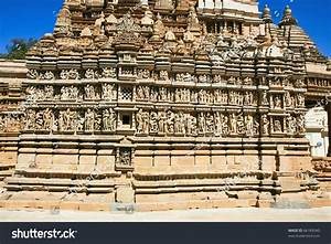 Detail Parsvanath Temple Eastern Group Temples Stock Photo ...