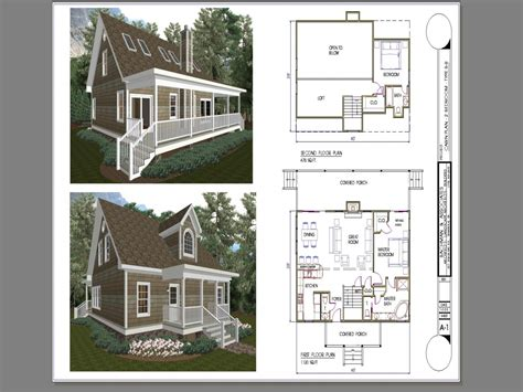 tiny house plans  bedroom  bedroom cabin plans  loft