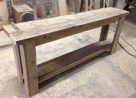 sidetable maken sidetable steigerhout