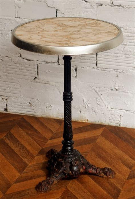 table gueridon bistrot werzalit table bistrot annees