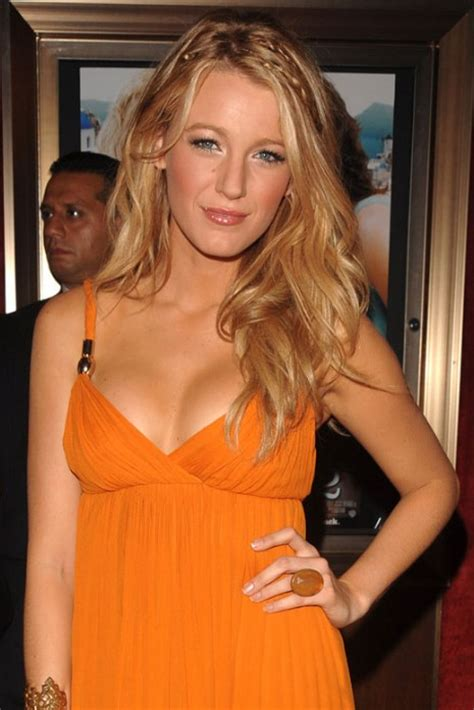 blake lively cute long braided hairstyle hairstyles weekly