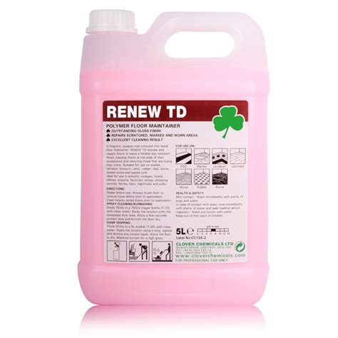 renew wood cleaner polished floor cleaner maintainer vinyl rubber tiles stone lino 5l makes 100l ebay