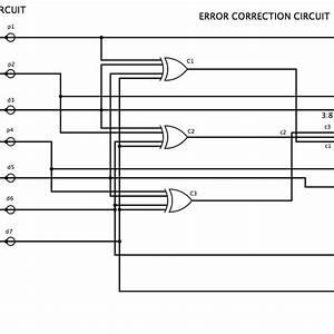 Hamming Code Error Detection Electronic Circuit