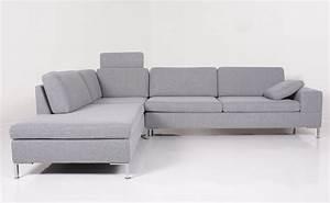 Sofa Ottomane : couch grau stoff hause deko ideen ~ Pilothousefishingboats.com Haus und Dekorationen