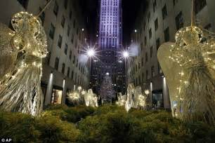 Christmas Tree Lighting Rockefeller Center 2014 by Mariah Carey Takes The Stage At The Rockefeller Center