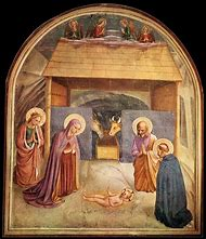 Nativity, Fresco in San Marco Poster Print by Fr…