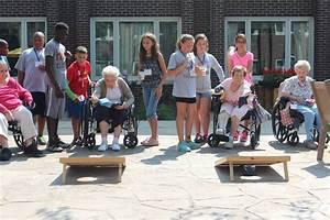 Campers Volunteer At Sunny Hill Nursing Home U2019 Greater