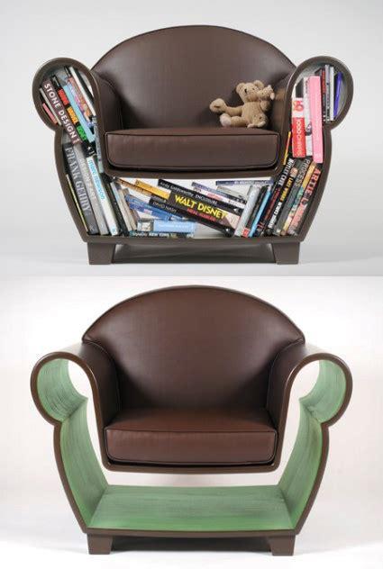 hollow book chair