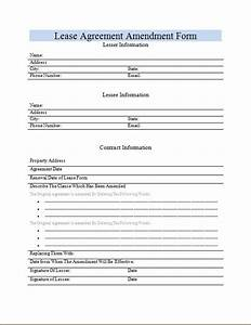 Microsoft Office Inventory Template Lease Modification Agreement Form Microsoft Word Excel