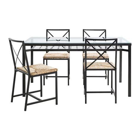table de cuisine ikea en verre granås table et 4 chaises ikea