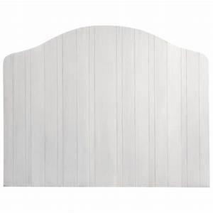 Tête de lit en manguier blanche L 160 cm Apolline Maisons du Monde