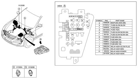 Genuine Hyundai Wiring Assembly Front