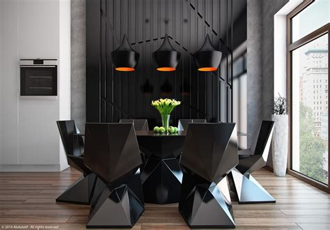 chaise salle a manger noir 20 modern dining rooms for inspiration