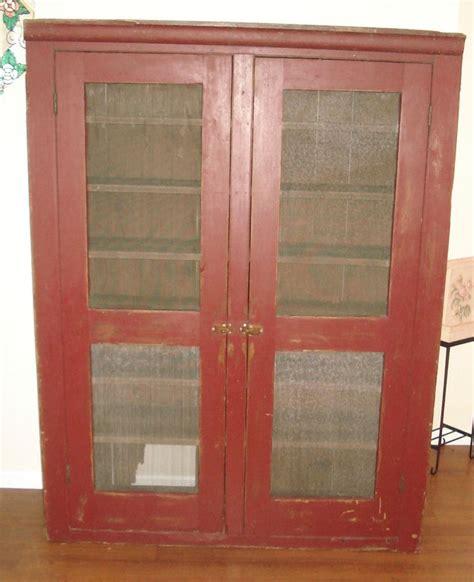 Primitive Cupboard by Antique Pie Safe Cupboard Cabinet Primitive Country