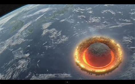 【動画】直径400kmの巨大隕石が衝突したとき、地球で何が起こるのか