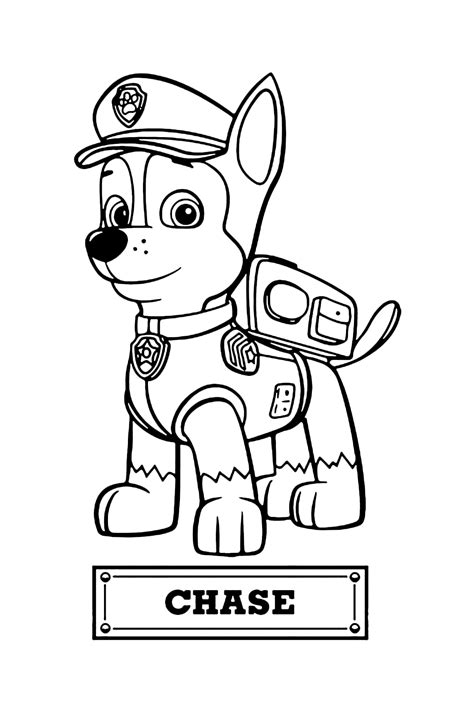 Paw Patrol Chase The Police Dog