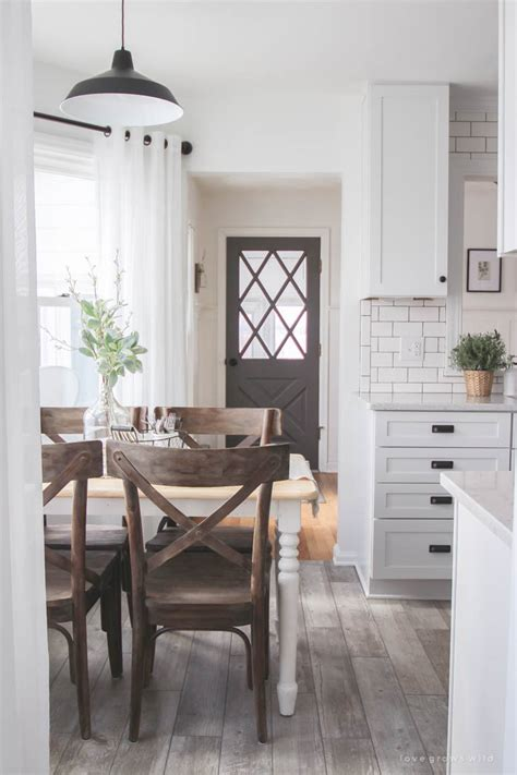 Farmhouse Kitchen Makeover Reveal  Love Grows Wild