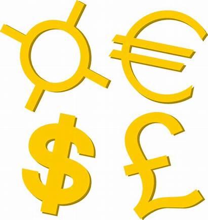 Symbols Currency Clip Gold Clipart Clker Svg