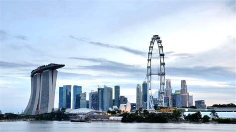 amazing singapore flyer view