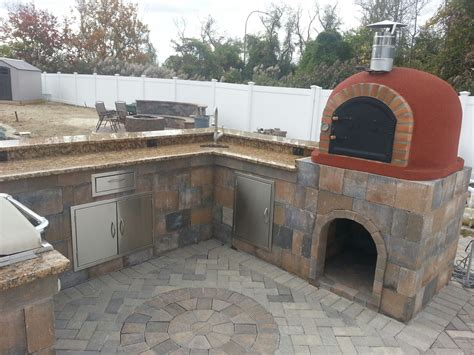outdoor kitchen pizza oven design code pizza oven insulated creations 7243