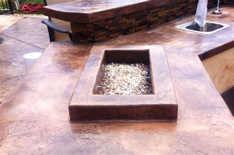 concrete countertops cpf custom concrete and masonry