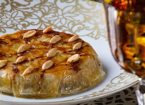 cuisine syrienne traditionnelle pastilla at la grande table marocaine at the