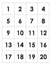 number counting chart   pritnable count   write