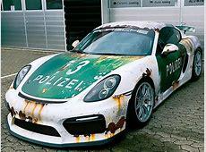 Porsche Cayman GT4 Tuning von Wrap Style autozeitungde