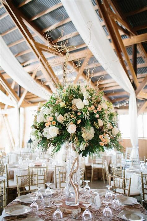 rustic barn wedding with elegance modwedding
