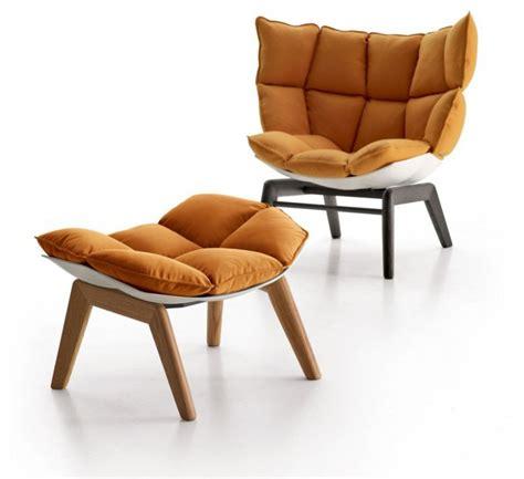 fauteuil husk marron par patricia urquiola pour b b italia