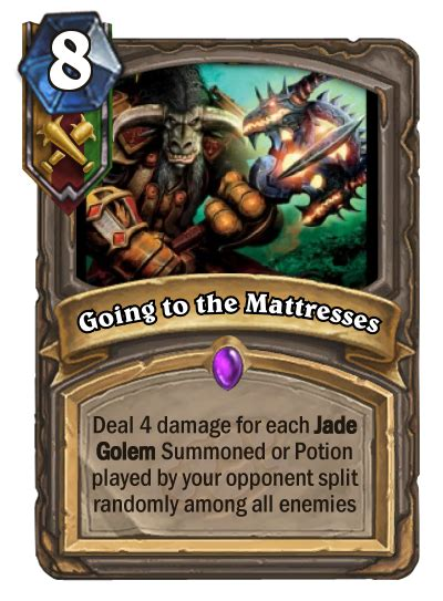 go to the mattresses going to the mattresses customhearthstone