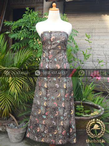 batik cap wonogiren kain batik remukan coletan floral kembang hitam thebatik