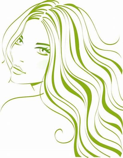Clipart Flowing Hair Cliparts