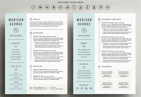 Resume Template 2 Pages by Exle Resume Experience And Education For Two Page