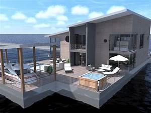 Maison Flottant Prix : maisons bois flottantes azille une r alisation de architecture espace ~ Dode.kayakingforconservation.com Idées de Décoration