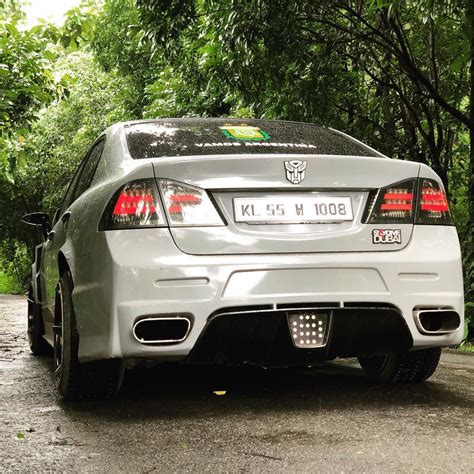 Modified Civic Cars by Modified Honda Civic With Scissor Doors Transformers