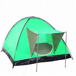 Gartenliege Für 2 Personen : campingzelt loksa 2 mann zelt kuppelzelt igluzelt festival zelt 2 personen gr n ~ Bigdaddyawards.com Haus und Dekorationen