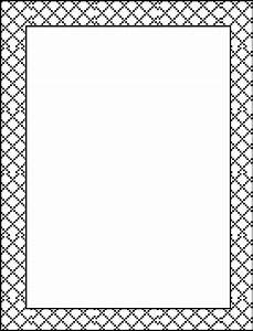 Elegant page borders clipart - BBCpersian7 collections