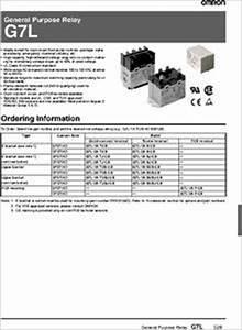 G7l-1a-tub-cb-ac100  120 Datasheet