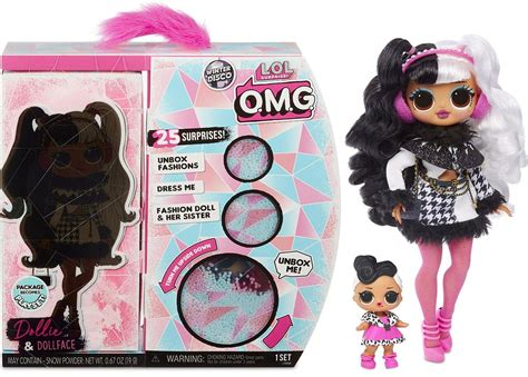 Lol surprise doll crystal star май. LOL Surprise Winter Disco OMG Dollie Dollface Fashion Doll ...