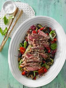 Salat Mit Zucchini : gegrillter auberginen zucchini salat mit rumpsteak ~ Lizthompson.info Haus und Dekorationen