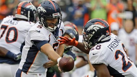 denver broncos  seattle seahawks nfl