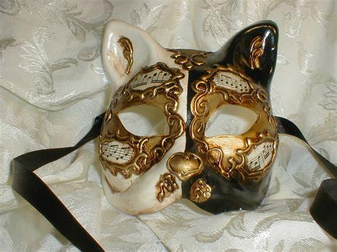 venetian cat mask masquerade venetian masks